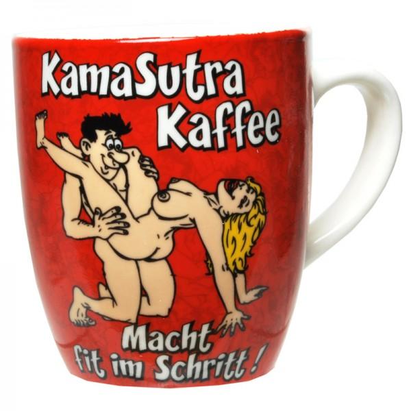 """Becher """"KamaSutra-Kaffee"""" Porzellan"""