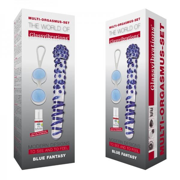Blue Fantasy, Intensiv-Kugeln & AQUA Intim BioMed Glide 4ml