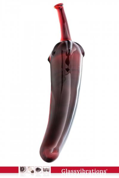 LAST EDITION! Glasdildo Fruit Line Red Pepper