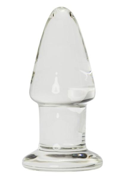 Glasdildo Glas Plug Der dicke Kegel