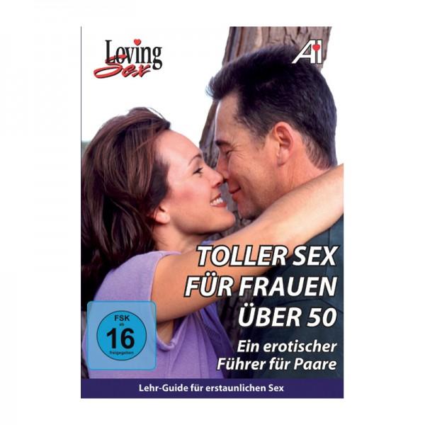 """DVD A.I. """"Toller Sex für Frauen über 50"""" (FSK16)"""